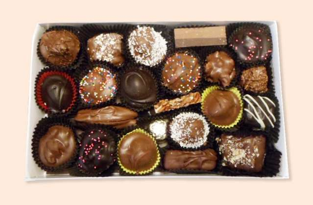 Assorted Mixed Chocolates: click to enlarge