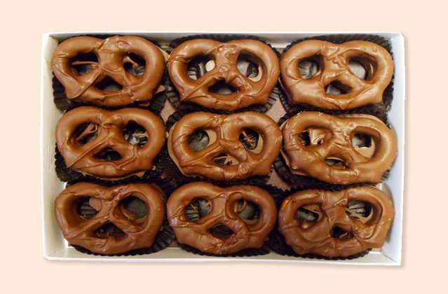Pretzels: click to enlarge