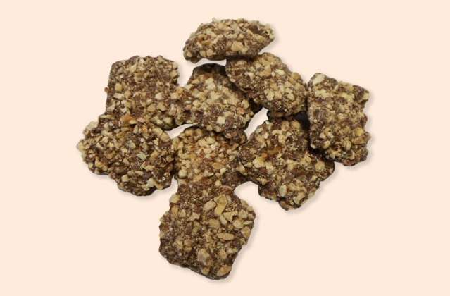 Sugar Free Almond Buttercrunch: click to enlarge