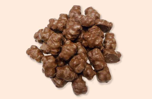 Chocolate Covered Gummy Bears: click to enlarge