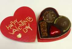 2 oz. Happy Valentine's Day  Heart Box