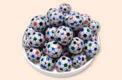 Foil Wrapped Soccer Balls