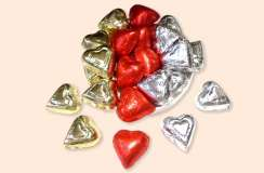 Foil Wrapped Hearts